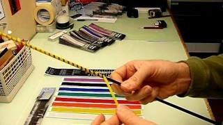 Mighty Bright Coloured Reflective Rod Tip Tape
