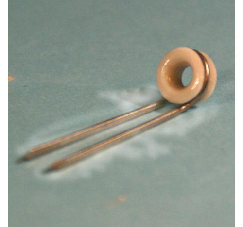 Porcelain 61/3 tip top (10mm OD)
