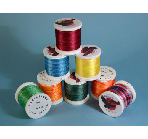 selection of Varigated thread
