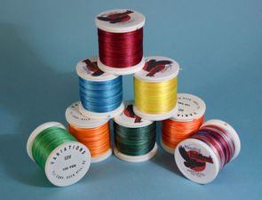 Fishhawk Varigated Nylon Thread: selection of Varigated thread