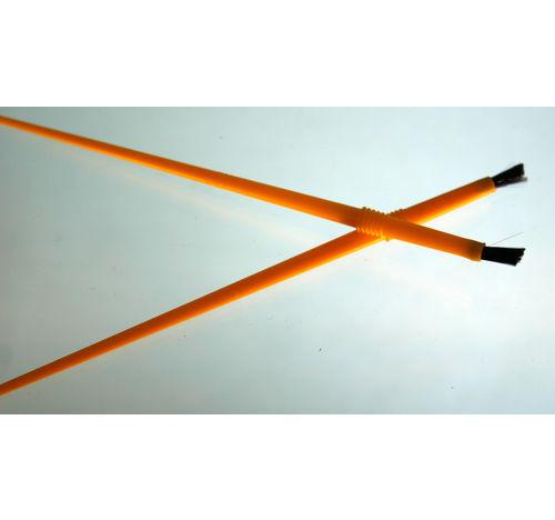 Amplia cepillo de cerdas de nylon de 1/4 pulgada