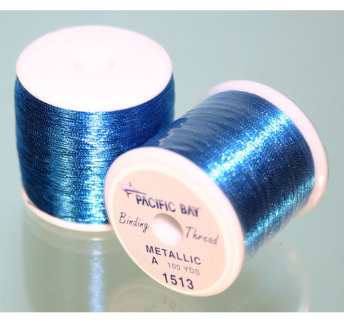 Azul Metallic thread 100 yard
