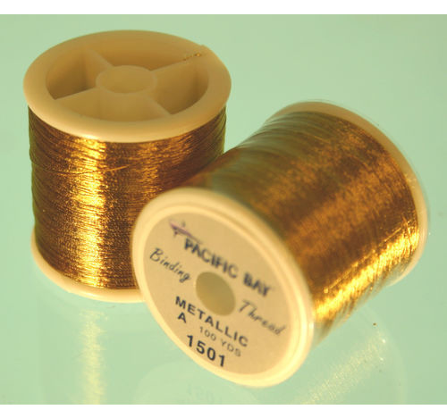 Old Gold Metallic thread 100 yard