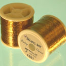 Old Gold Metallic hilo 100 yardas