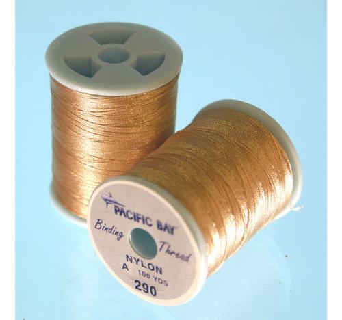 Nylon Thread Grado 100 yrd Tan