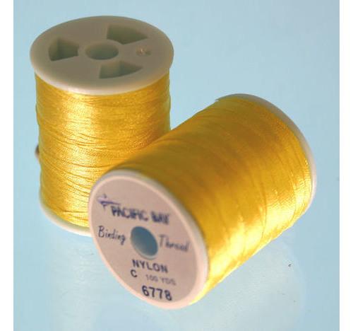 Nylon Thread Grado 100 yrd Amarillo