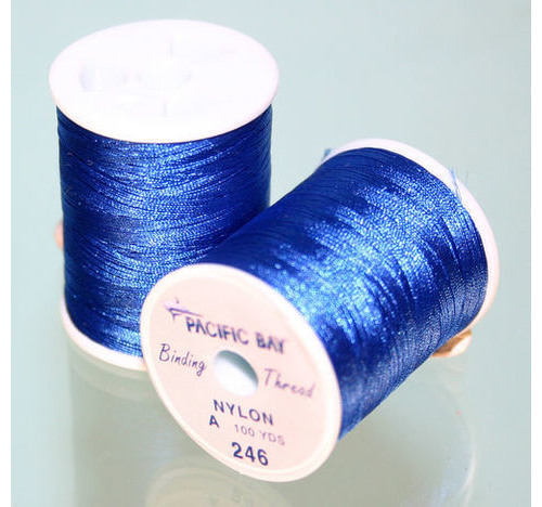 Nylon Thread Grado Cobalt 100 yrd Blue