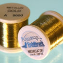 Metallic P thread 100 meter Spool Gold