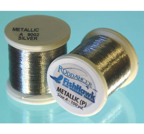 Metallic P thread 100 meter Spool Silver