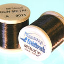 Metallic P thread 100 meter Spool Gun Metal