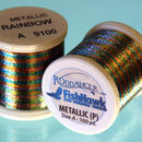 Metallic P thread 100 meter Spool Rainbow