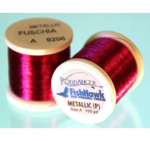 Metallic P thread 100 meter Spool Fuchsia