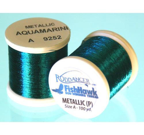 Metallic P thread 100 meter Spool Aquamarine