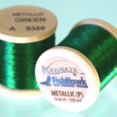 Metallic P thread 100 meter Spool GREEN