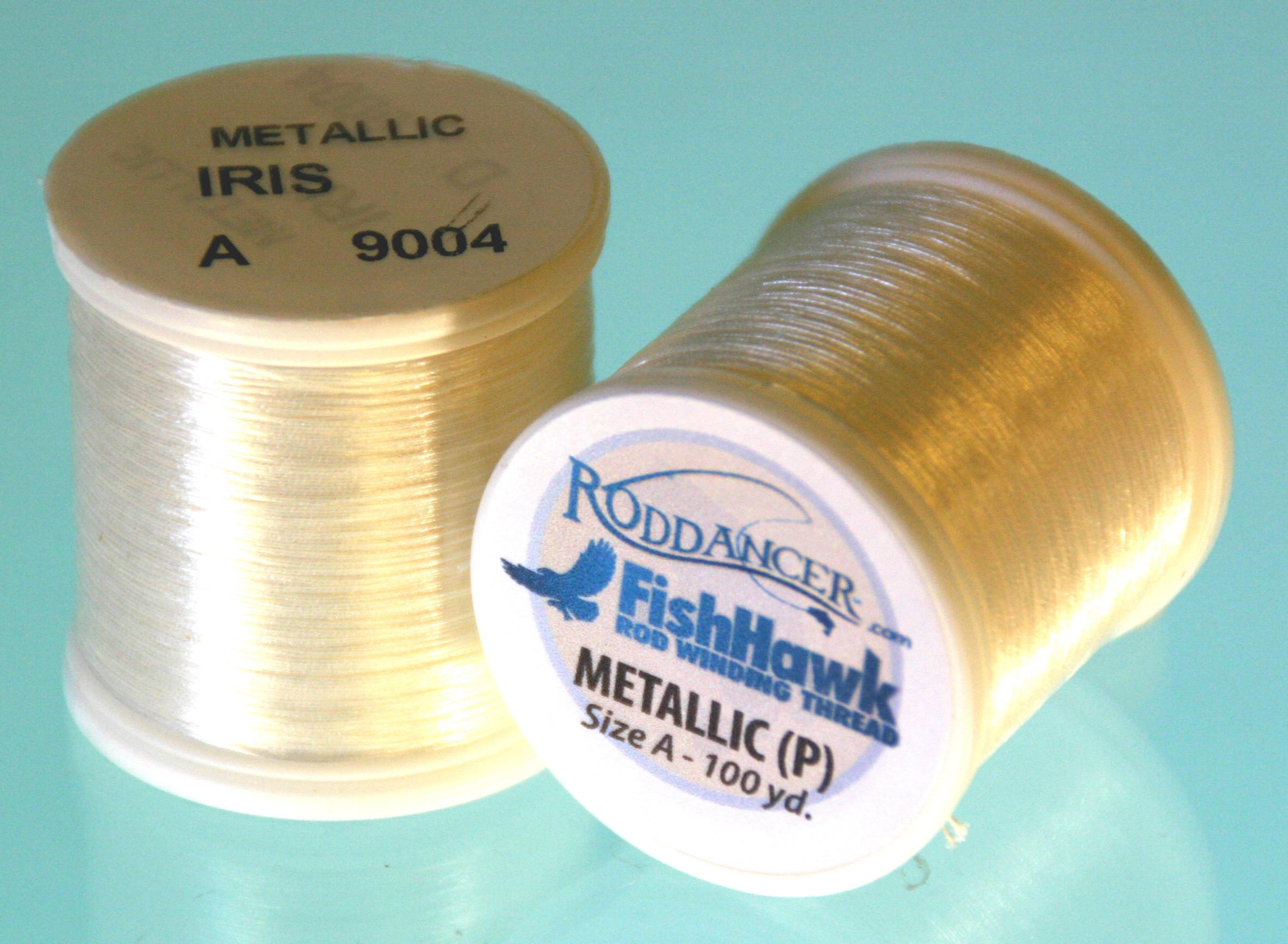Fish Hawk # 9396 COPPER Metallic Rod Winding A Thread 100 yards 1 Spool