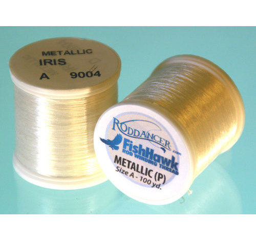 Metallic P thread 100 meter Spool Iris