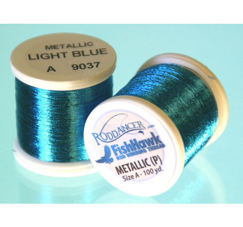 Metallic P thread 100 meter Spool Light Blue