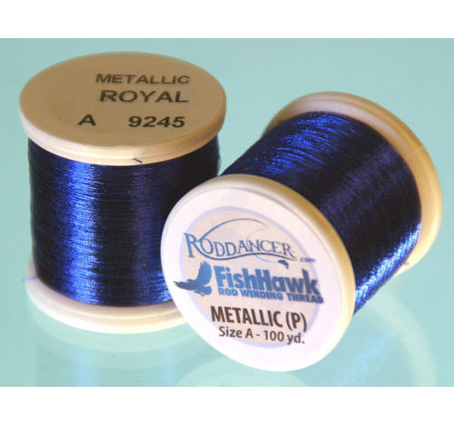 Metallic P thread 100 meter Spool Royal Blue