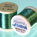 Metallic P thread 100 meter Spool AQUA