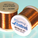 Metallic P thread 100 meter Spool COPPER