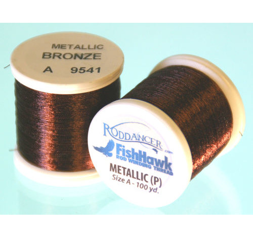 Metallic P thread 100 meter Spool BRONZE