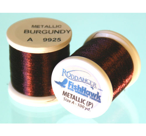 Metallic P thread 100 meter Spool BURGUNDY