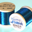 Metallic P thread 100 meter Spool ELECTRIC BLUE