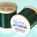 Metallic P thread 100 meter Spool HUNTER GREEN