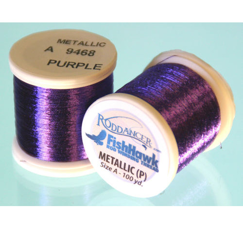 Metallic P thread 100 meter Spool PURPLE