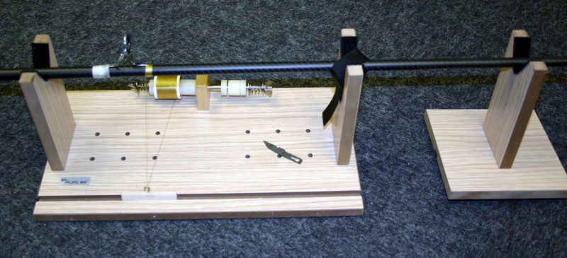 fishing rod binding machine