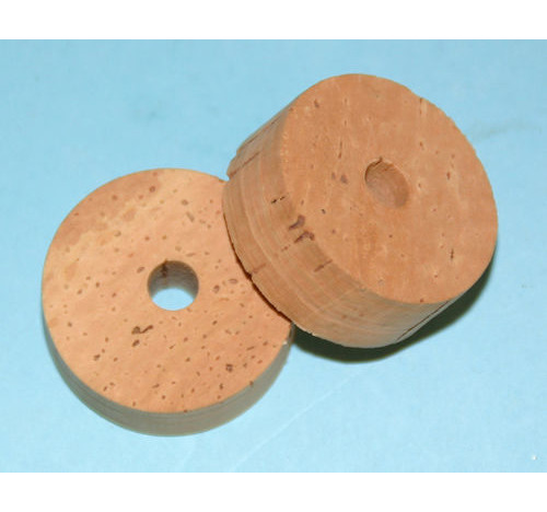 Pack of 10 Cork Rings 6 mm bore Flor Grade