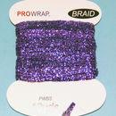 PROWRAP Metallic Braid Purple
