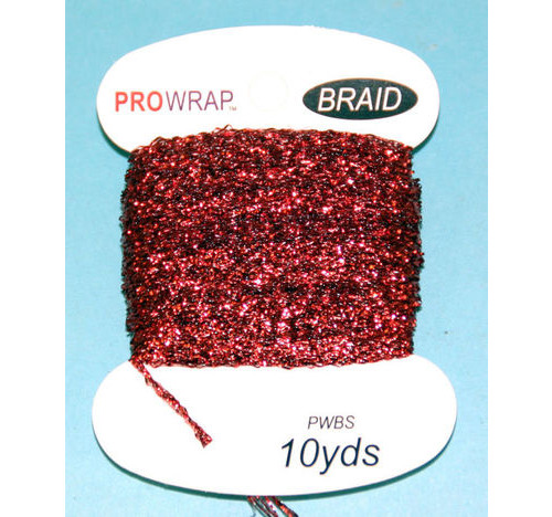 ProWrap metálico Braid Red