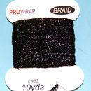 PROWRAP Metallic Braid Black