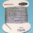 PROWRAP Metallic Braid Silver