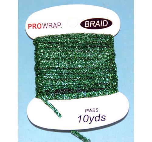 PROWRAP Metallic Braid Green