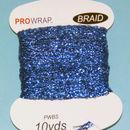 PROWRAP Metallic Braid Blue
