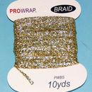 PROWRAP Metallic Braid Gold