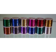 Pacific Bay Metallic Thread 100 yard spools