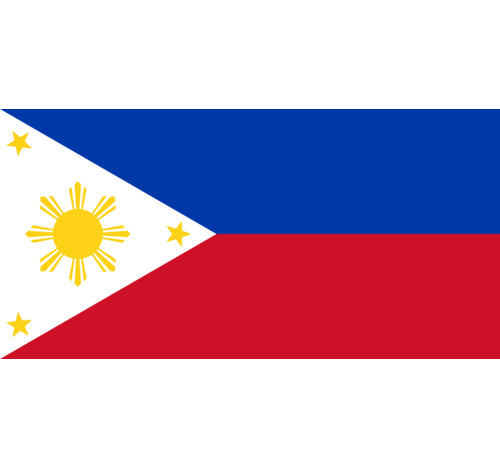 Philippines Flag decal 3 pack