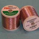 ProWrap toque metálico rojo y plata