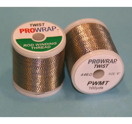 Prowrap metallic twist Blue & Gold