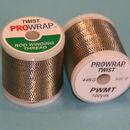 Toque metálico ProWrap azul y del oro