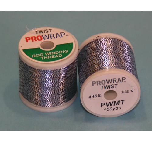 ProWrap giro azul metálico y plata