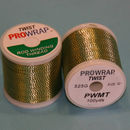 Prowrap metallic twist Green & Gold