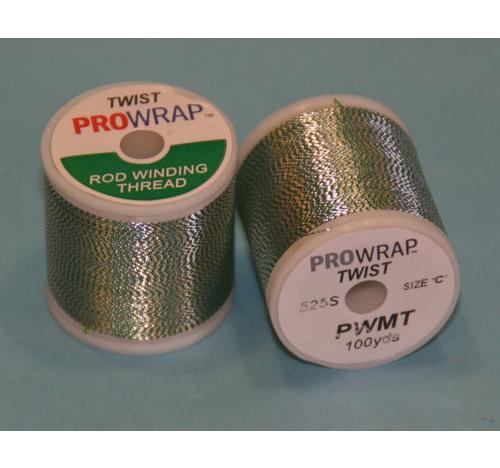Prowrap metallic twist Green & Silver