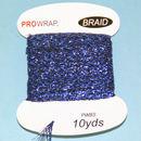 PROWRAP Metallic Braid Blue/ Black
