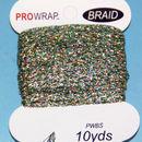 PROWRAP Metallic Braid Green/Gold/Silver