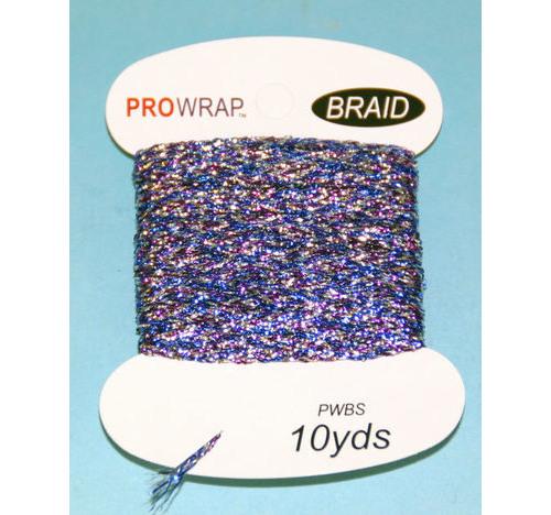 PROWRAP Metallic Braid Purple/Blue/Silver