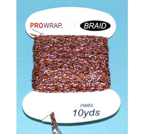 PROWRAP Metallic Braid Copper /Silver